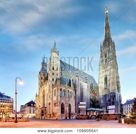 Vienna, St. Stephan Cathedral, Austria, Nobody