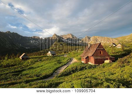 Valley in the Polish Tatra Mountains