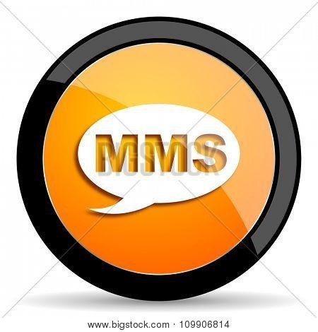 mms orange icon