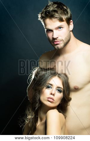 Sensual Young Couple