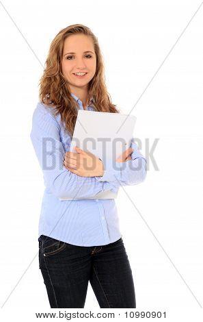 Attractive student