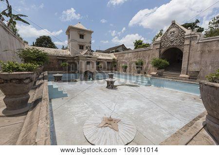 Taman Sari Water Palace Of Yogyakarta On Java Island, Indonesia.