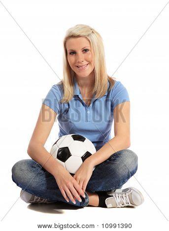 Soccer fan