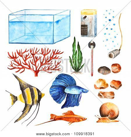 Aquarium objects