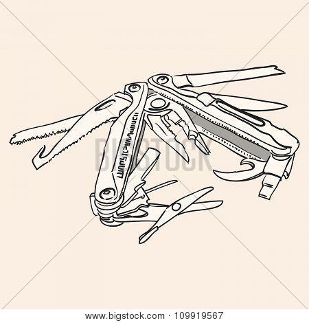 Knife Multi Tool