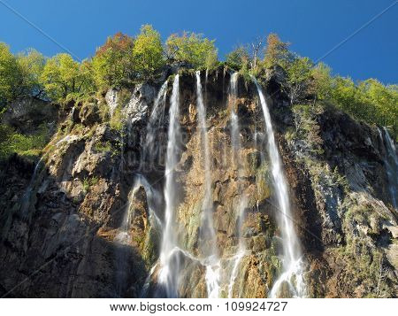 Plitvice National Park Big Waterfalls