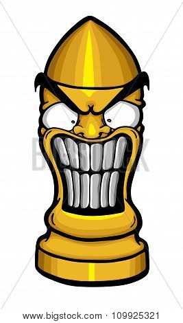 Angry Funny Bullet