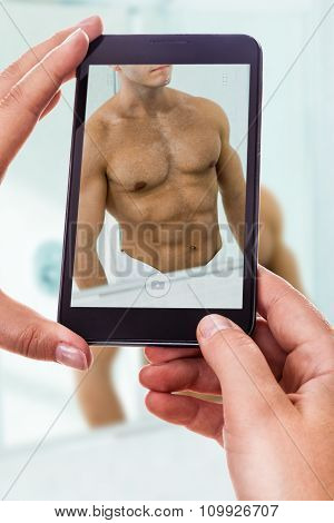 Photographing A Muscular Man