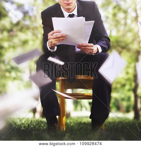 Mail Message Envelop Communicate Envelope Business Concept