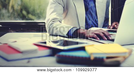 Business Corporate Focusing Workshop Occupation Concept