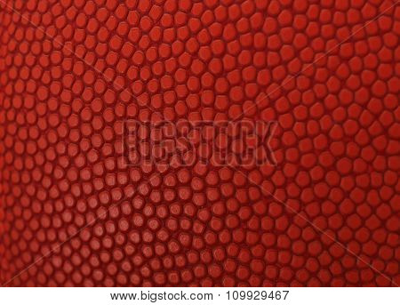 basketball macro orange texture