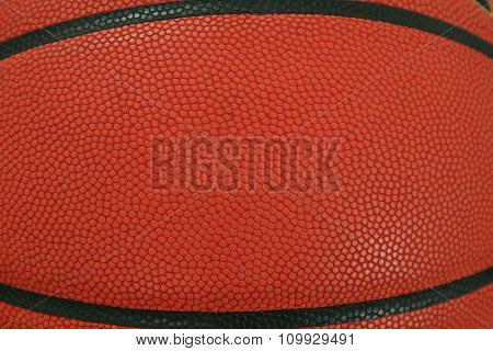 basketball with space for text