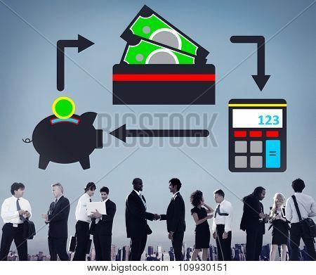Savings Money Financial Budget Cash Banking Concept