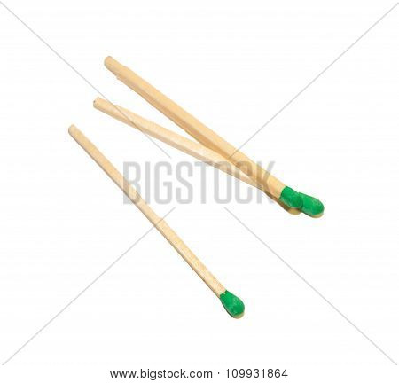 Three Green Matches