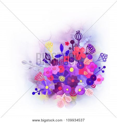 Watercolor Decorative Background 1