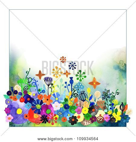Watercolor Decorative Background 2