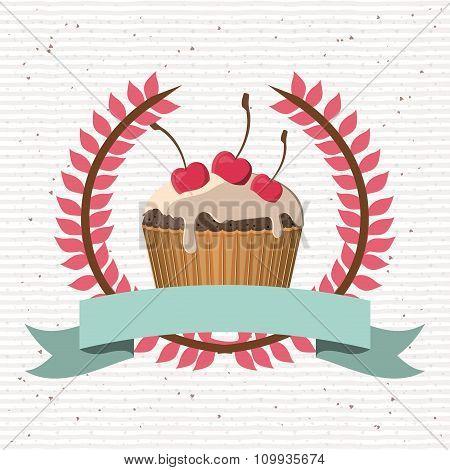 delicious cupcake design