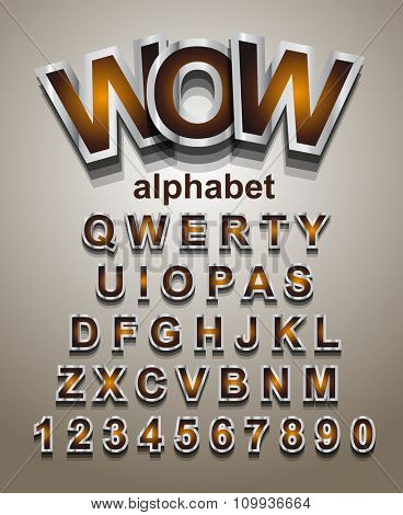 Christmas Alphapet Font to use for children's parties invitations, school event posters, funny games descriptions, litttle boys brochure and so on!