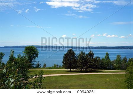 Bayfront Park and Little Traverse Bay