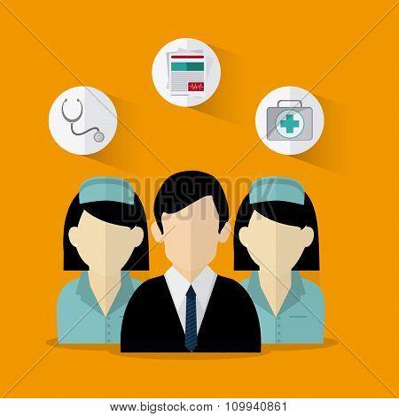 Insurance icons design