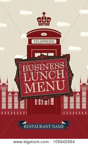 Business Lunches Menu