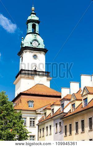 town hall of Jelenia Gora, Plac Ratuszowy, Silesia, Poland
