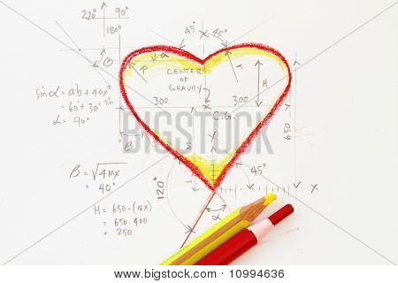 Heart With Formula