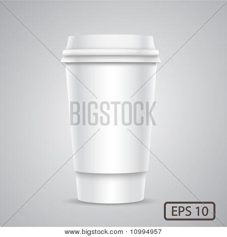 Vector Plastic Cup