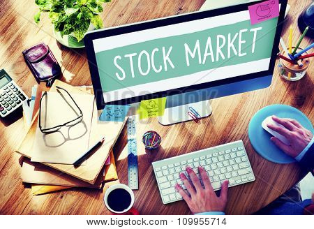 Stock Market Exchange Financial Investment Economy Concept