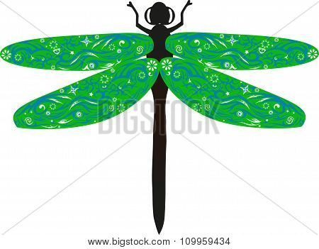 Dragonfly Green