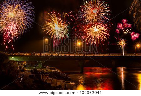 Bridge Fireworks