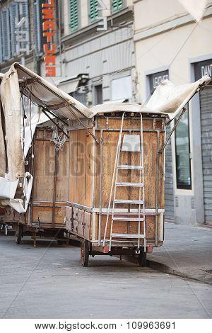 San Lorenzo Leather Market Florence