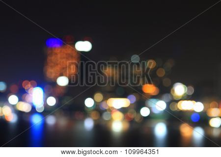 bokeh blur light