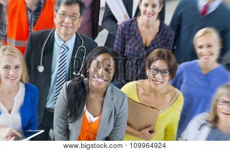 Team Variation Occupation Uniform Profession Concept