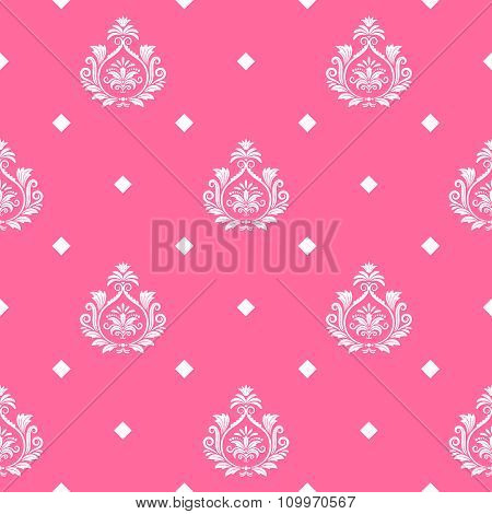 Vector princess seamless background