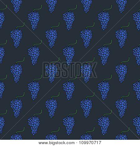 Modern grape geometric background