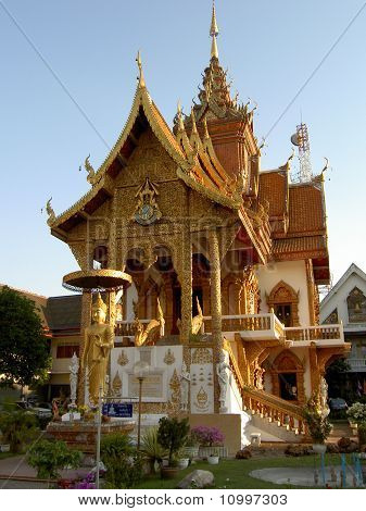 Buddhist temple, Thailand.