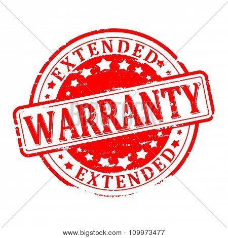 Damaged Red Seal - Warranty Extended