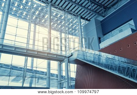 Modern Architecture of airport station
