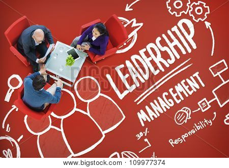 Leadership Leader Management Authority Director Concept