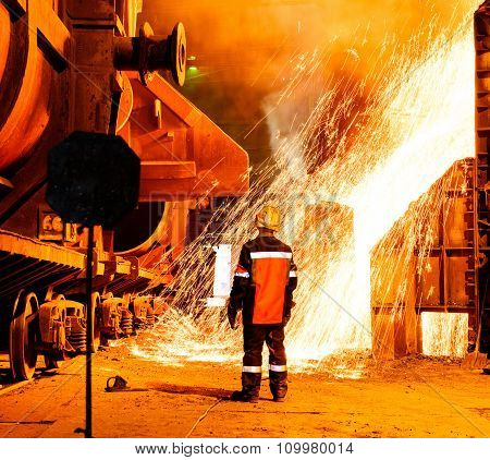 Steel Works Integrated Steel Production Cycle