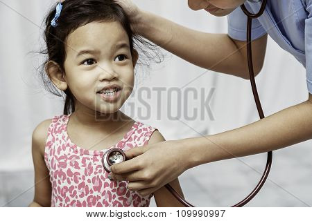 child and paediatrician