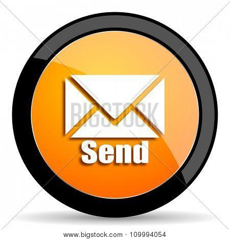 send orange icon