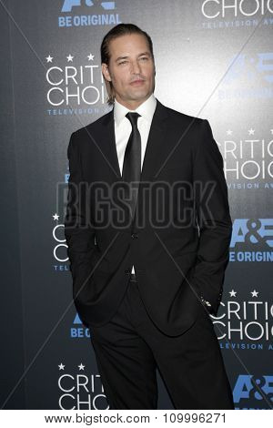 LOS ANGELES - MAY 31:  Josh Holloway at the 5th Annual Critics' Choice Television Awards at the Beverly Hilton Hotel on May 31, 2014 in Beverly Hills, CA