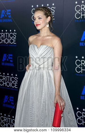 LOS ANGELES - MAY 31:  Sadie Calvano at the 5th Annual Critics' Choice Television Awards at the Beverly Hilton Hotel on May 31, 2014 in Beverly Hills, CA