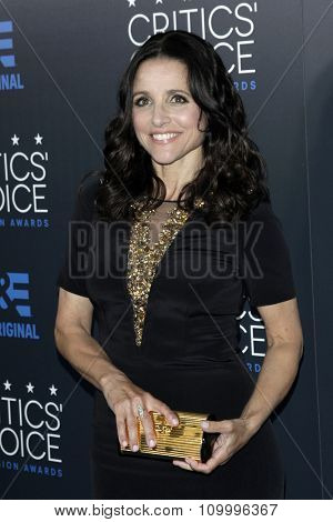 LOS ANGELES - MAY 31:  Julia Louis Dreyfus at the 5th Annual Critics' Choice Television Awards at the Beverly Hilton Hotel on May 31, 2014 in Beverly Hills, CA