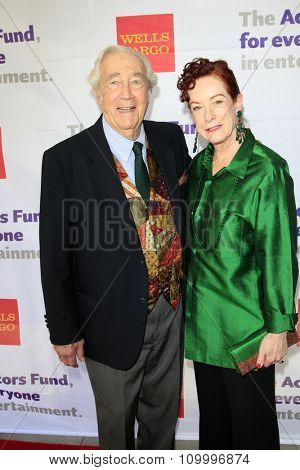 LOS ANGELES - JUN 8:  James Karen, Alba Francesca at the 2014 Tony Award Viewing Party at the Taglyan Cultural Complex  on June 8, 2014 in Los Angeles, CA