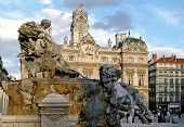 The Bartholdi Fountain (Lyon-France)