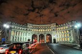 Admiralty Arch, London, England, UK, Europe, Illuminated At Night In Winter poster