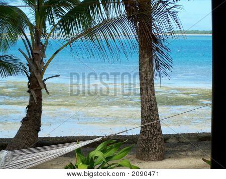 Tranquil Beachfront Snoozing Spot